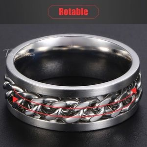 Other - Size 12 Men's Stainless Steel Ring